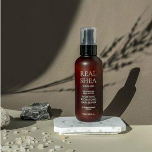 Серум-сыворотка для восстановления и увлажнения волос на основе масла ши холодного отжима Cold Pressed Shea Butter Moisture Recharging Serum
