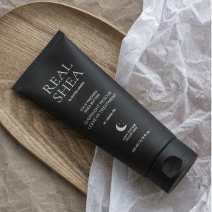 Ночная маска для волос на основе масла ши, Cold Pressed Shea Butter Overnight Rescue Leave-in Treatment
