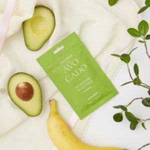 Питательная маска для кожи головы с маслом авокадо и экстрактом банана, Cold Press Avocado Nourishing Scalp Pack