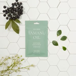 Успокаивающая маска для кожи головы с маслом таману, Cold Press Tamanu Soothing Scalp Pack